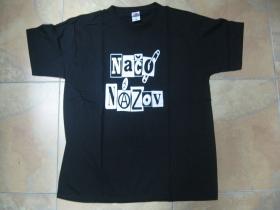 Načo Názov old school logo pánske tričko 100 %bavlna Fruit of The Loom