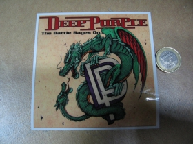 Deep Purple  pogumovaná nálepka