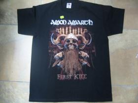 Amon Amarth čierne pánske tričko materiál 100%bavlna