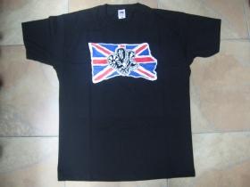 UNION JACK - britská vlajka s botami pánske tričko materiál 100%bavlna značka Fruit of The Loom