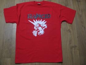 Rancid červené pánske tričko materiál 100% bavlna