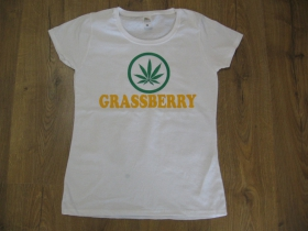 GRASSBERRY dámske tričko materiál 100%bavlna značka Fruit of The Loom