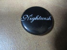 Nightwish, odznak priemer 25mm