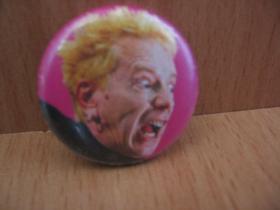Sex Pistols Johny Rotten  odznak priemer 25mm
