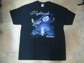 Nightwish  čierne pánske tričko 100%bavlna
