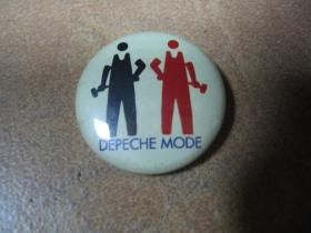 Depeche Mode, odznak priemer 25mm