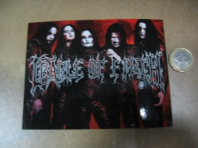 Cradle of Filth pogumovaná nálepka