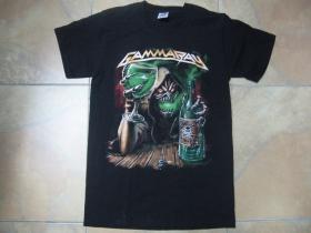 Gamma Ray  čierne pánske tričko 100%bavlna