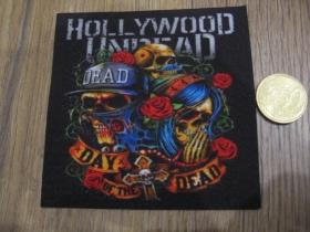 Hollywood Undead ofsetová nášivka po krajoch neobšívaná cca. 9x9cm