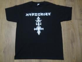 Hypocrysy čierne pánske tričko 100%bavlna