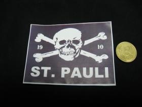 St. Pauli nálepka 10x7cm