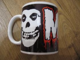 Misfits porcelánový pohár - šálka s uškom, objemom cca. 0,33L