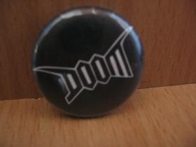 Doom  odznak priemer 25mm