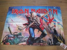 Iron Maiden vlajka rozmery cca. 110x75cm materiál 100%polyester
