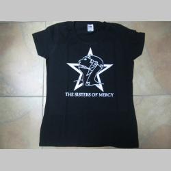 The Sisters of Mercy čierne dámske tričko 100% bavlna