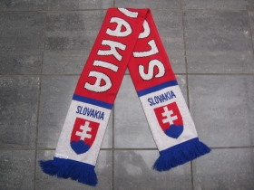 Slovakia - Slovensko pletený šál, Rozmery: 130x18 cm, Materiál: 100% akryl