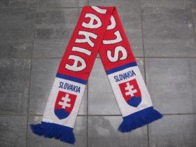 Slovakia pletený šál, Rozmery: 130x18 cm, Materiál: 100% akryl