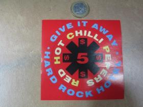Red Hot Chili Peppers  pogumovaná nálepka