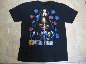 Dimmu Borgir čierne pánske tričko 100%bavlna