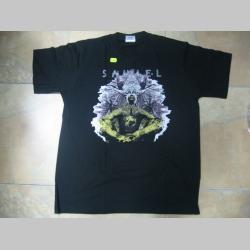 Samael čierne  pánske tričko 100 %bavlna