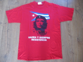 Che Guevara červené pánske tričko 100%bavlna