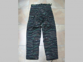 Maskáčové nohavice typu BDU - kapsáče vzor TIGER