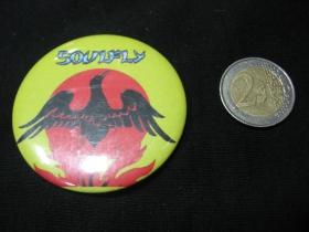 Soulfly odznak veľký, priemer 55mm