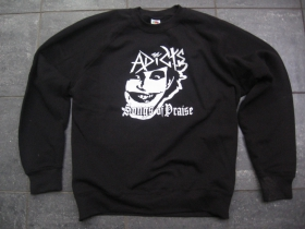 The Adicts - Songs of Praise  čierna mikina bez kapuce 80% bavlna 20%polyester