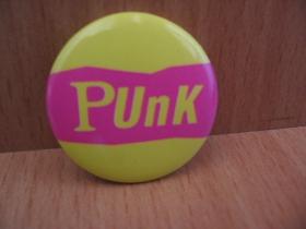 Punk odznak priemer 25mm