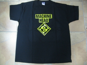 Machine Head  čierne pánske tričko 100%bavlna