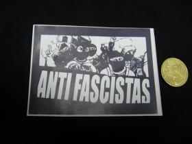 Antifascistas  nálepka 10x7cm