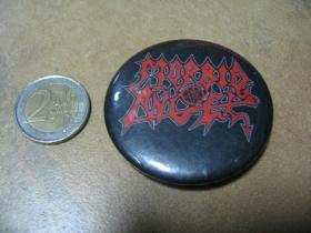 Morbid Angel odznak veľký, priemer 55mm