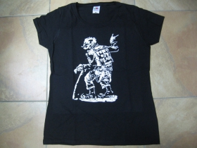 Punks not Dead - dedko dámske tričko Fruit of The Loom 100%bavlna