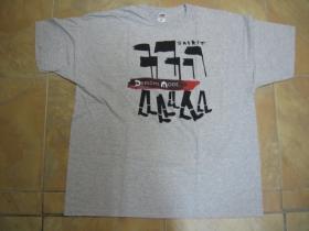 Depeche mode svetlošedé pánske tričko 100%bavlna
