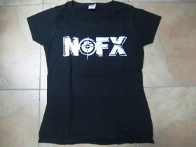 NOFX čierne dámske tričko 100%bavlna