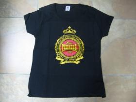 Perkele čierne dámske tričko  100%bavlna Fruit of The Loom