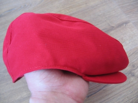 čiapka Rude Boy červená 100% bavlna univerzálna veľkosť