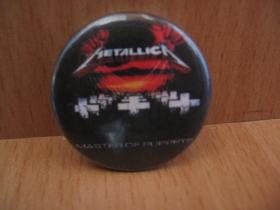 Metallica odznak priemer 25mm