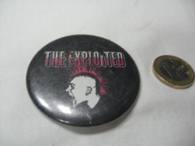Exploited - On Stage  odznak veľký,  priemer 55mm