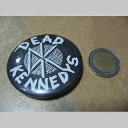 Dead Kennedys odznak veľký, priemer 55mm