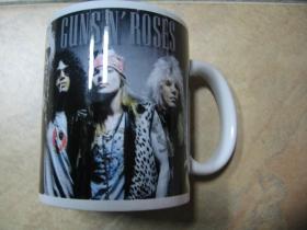 Guns n Roses porcelánový pohár - šálka s uškom, objemom cca. 0,33L