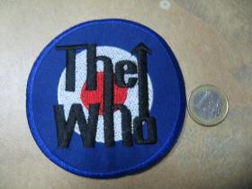 The Who nažehľovacia nášivka vyšívaná (možnosť nažehliť alebo našiť na odev)