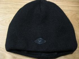 Ultra hrubá zimná čiapka čierna materiál 100% akryl univerzálna veľkosť vo vnútri naviac zateplená!!!