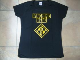 Machine Head čierne dámske tričko 100%bavlna