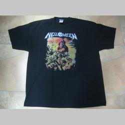 Helloween čierne pánske tričko 100%bavlna