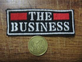 The Business vyšívaná nášivka - posledný kus!!!