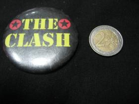 The Clash odznak veľký, priemer 55mm