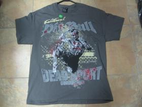 Pit Bull olivové pánske tričko 100%bavlna posledné kusy veľkosti XL a XXL