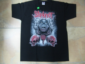 slipknot čierne pánske tričko 100%bavlna