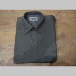 Pánska pilotná košeľa s krátkym rukávom olivovo zelená materiál 100%bavlna